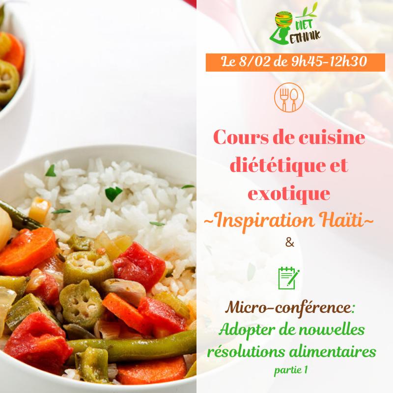 Atelier de cuisine diététique et exotique(1)