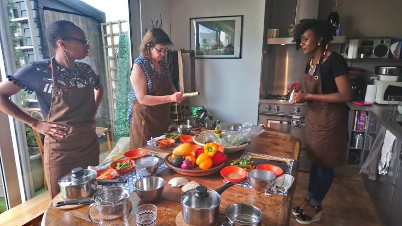 Cours de cuisine diététique et exotique